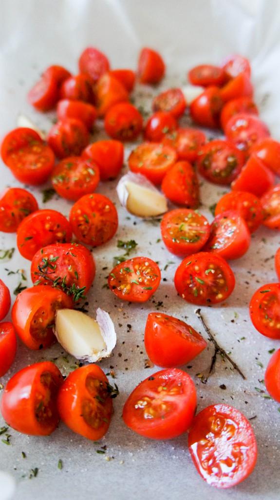 Slome tomaten uit de oven