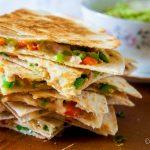 Quesadillas met guacamole