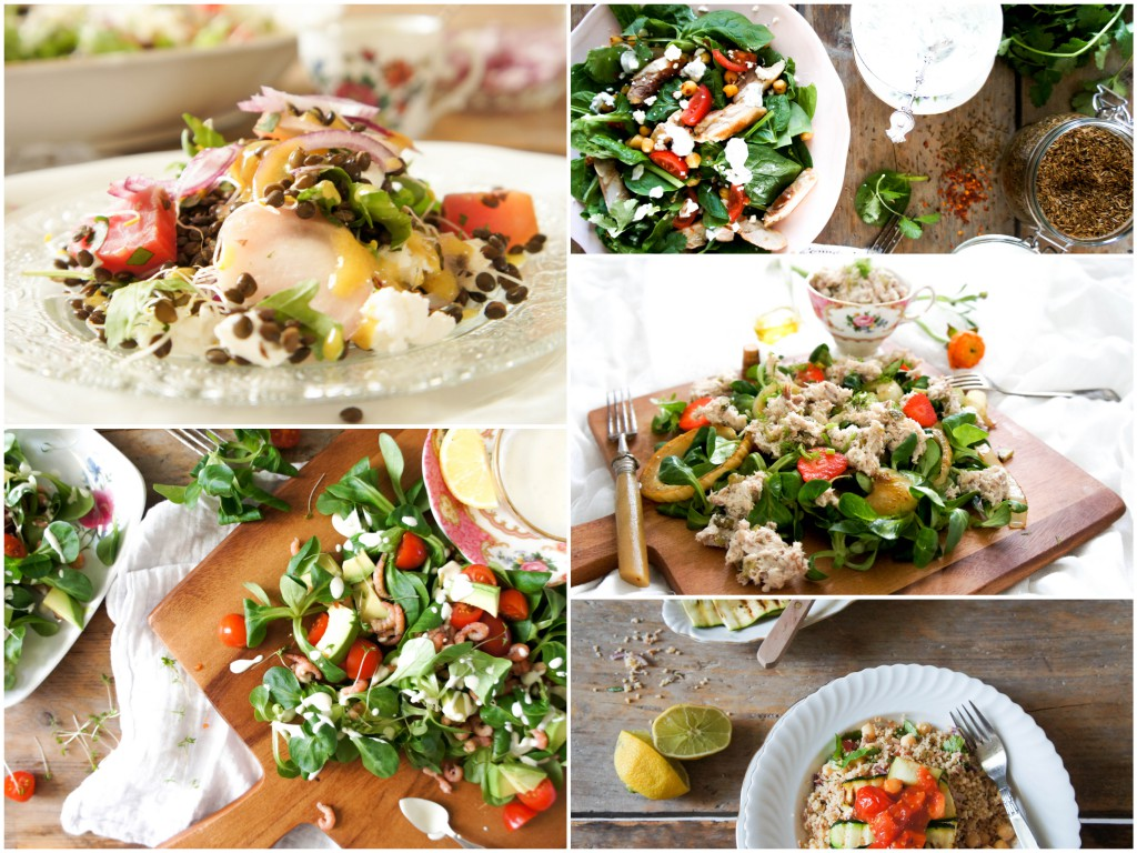 5 x zomerse salades