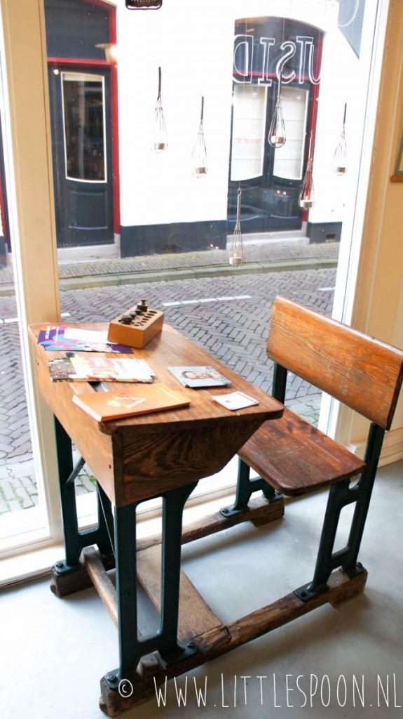 Taartjes en theeleuten bij De Juf in Middelburg