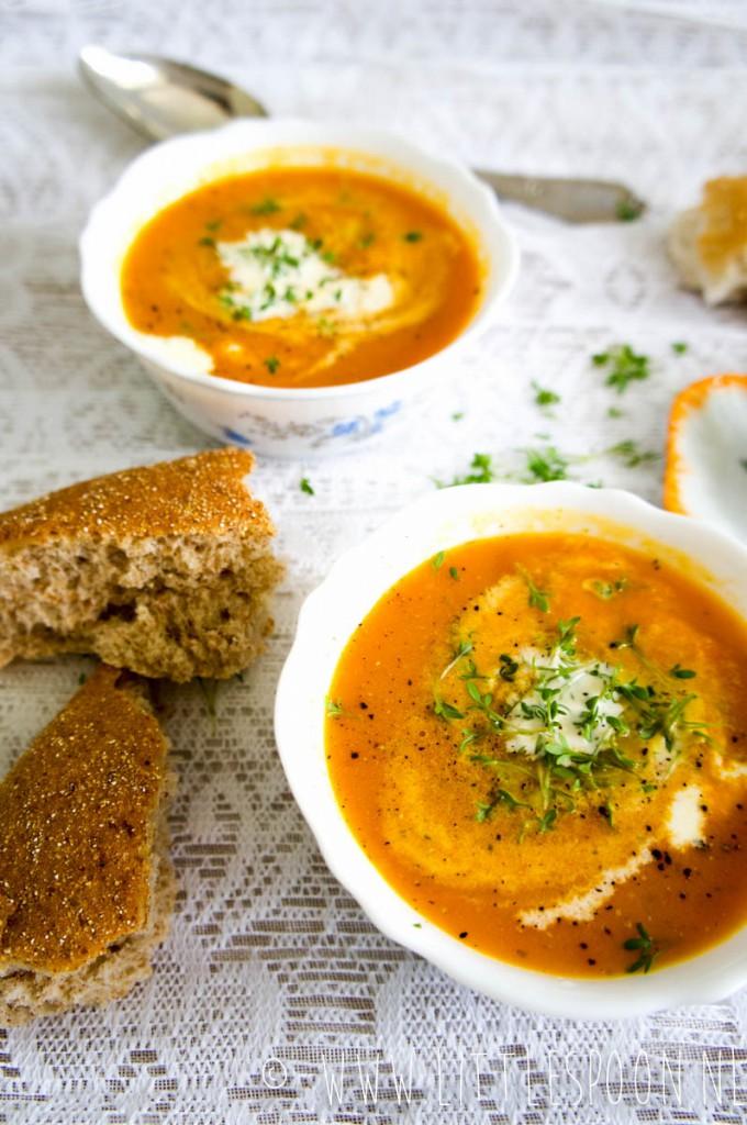Oranje Boven wortelsoep