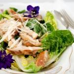 Caesar salad met kip