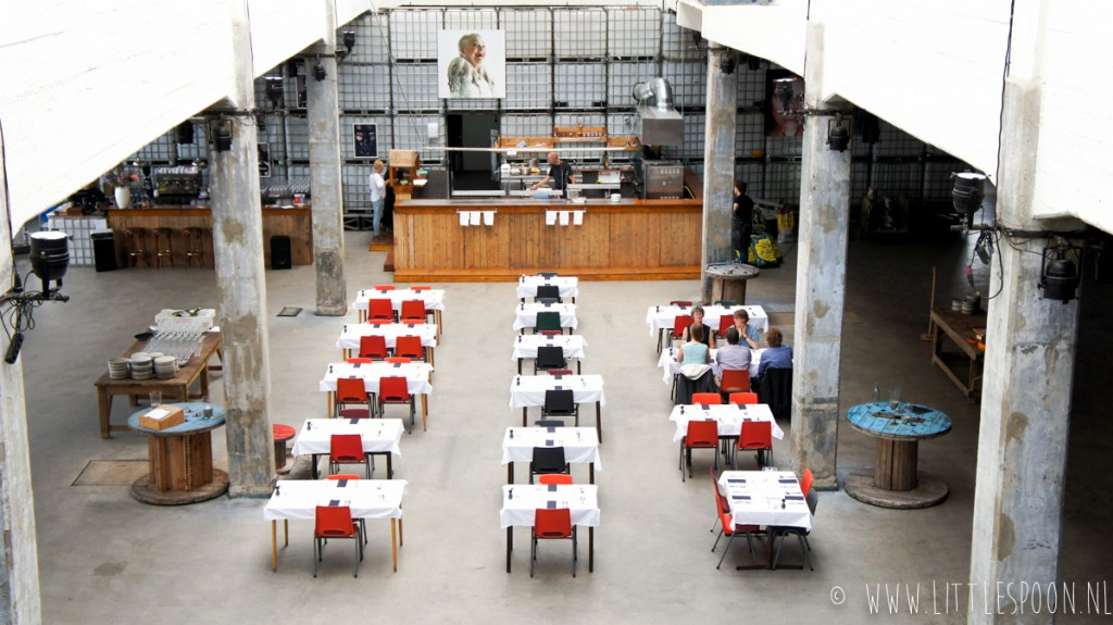 Pop-up restaurant Timmerfabriek in Vlissingen