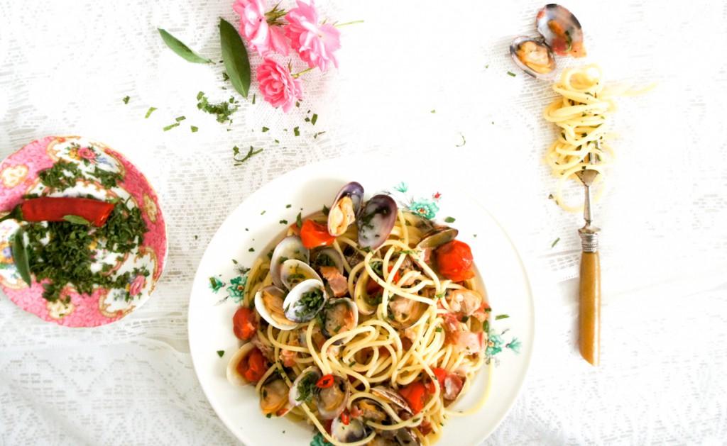 Food bucketlist #1 Spaghetti vongole