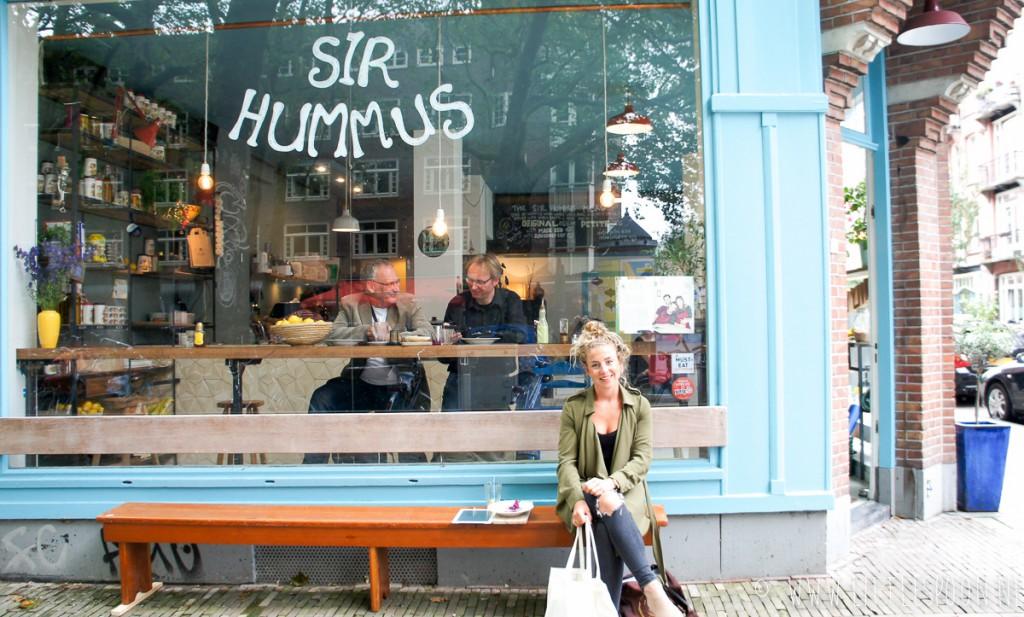 Best hummus ever bij Sir Hummus in Amsterdam