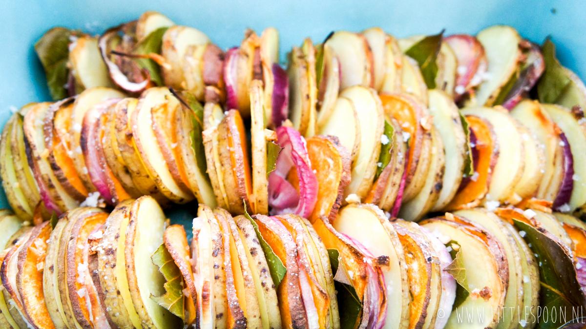 Laurieraardappeltjes uit de oven