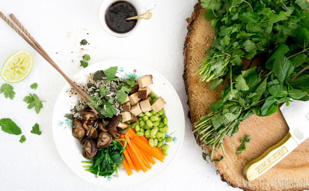 Healthy lunchbowl