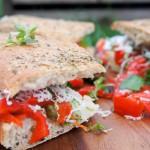 Picknickbrood // goed belegde focaccia