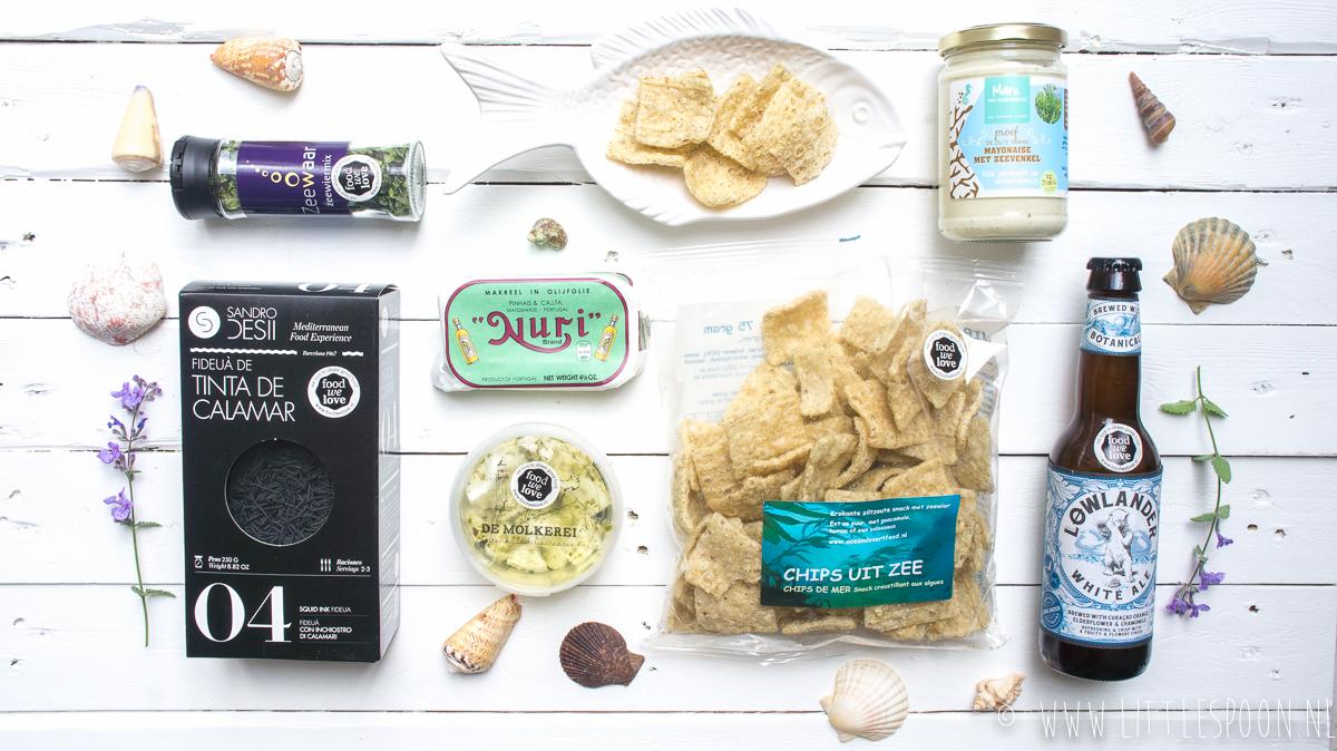 FoodWeLove box Uit de Zee + WINNEN