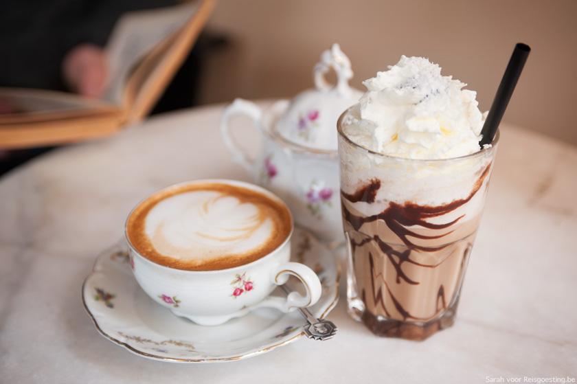 4 x koffie drinken in Antwerpen
