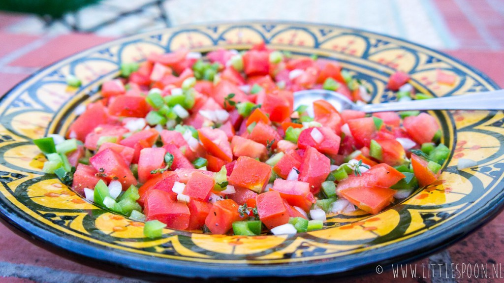 Portugese tomatensalade