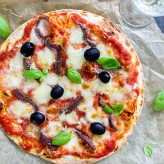 Super snelle pizza napolitana