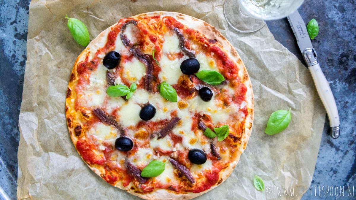 Super snelle pizza napoletana