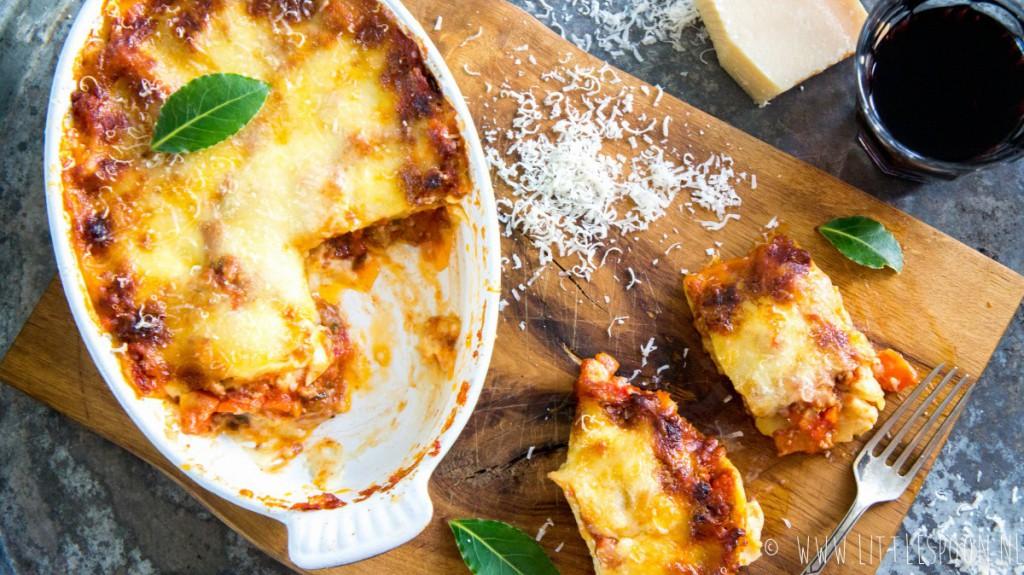 Super lekkere lasagne bolognese