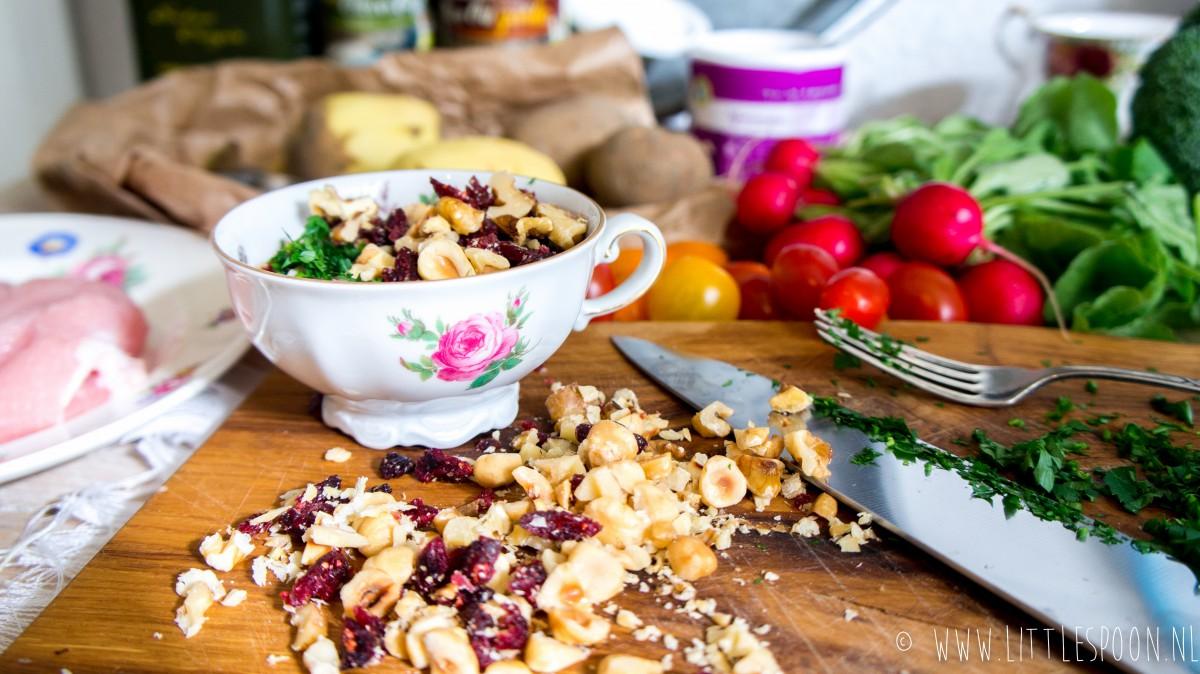 Het winnende recept #OSVTT // varkensrouleau met cranberrynotenvulling
