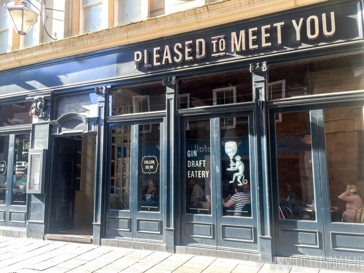 8 x eten en drinken in Newcastle