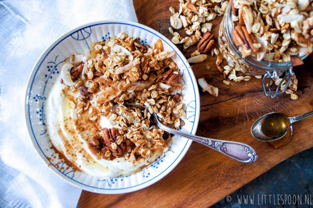 Vliegensvlugge granola uit de pan