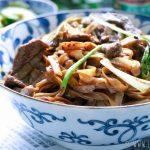 Beef Chow Fun // Chinese noodles met biefstuk