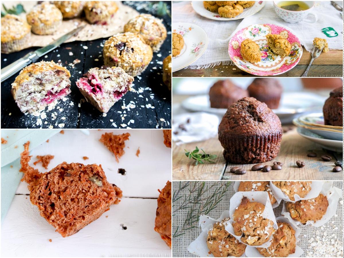 9 x de lekkerste recepten voor ontbijtmuffins