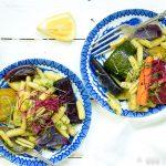 Pastasalade met geroosterde groente + 5 tips voor meer groente en minder vlees