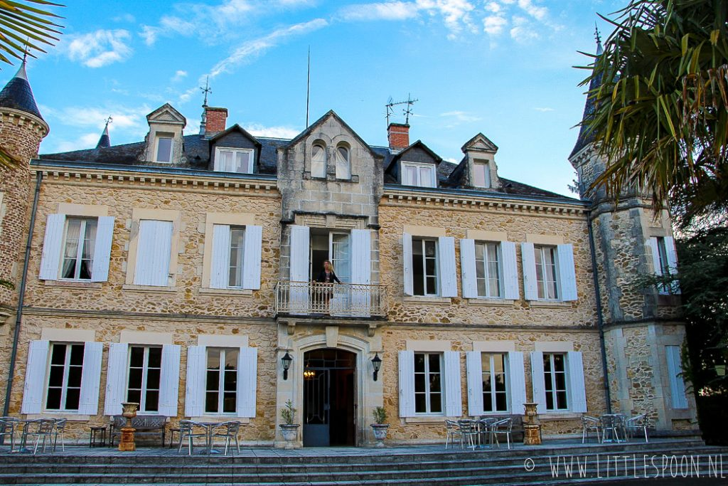 Château de Buros // Slapen op een kasteel in Les Landes