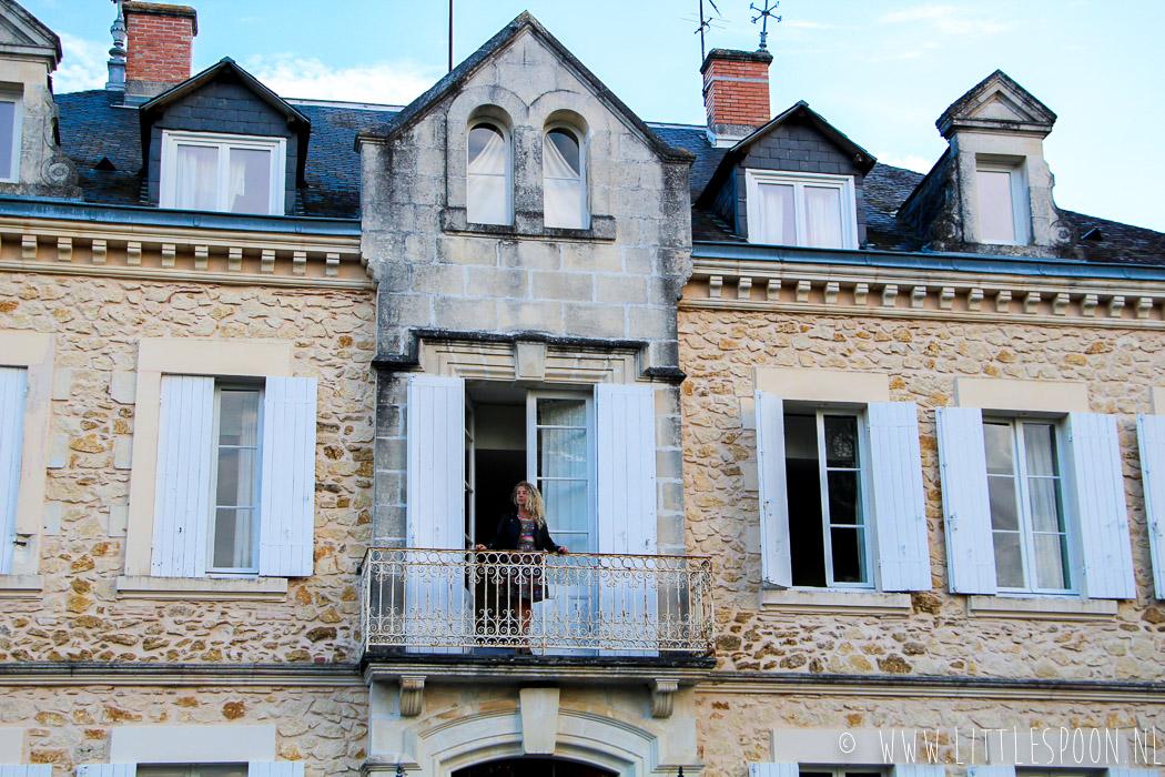 Chateau de Buros // Slapen op een kasteel in Les Landes