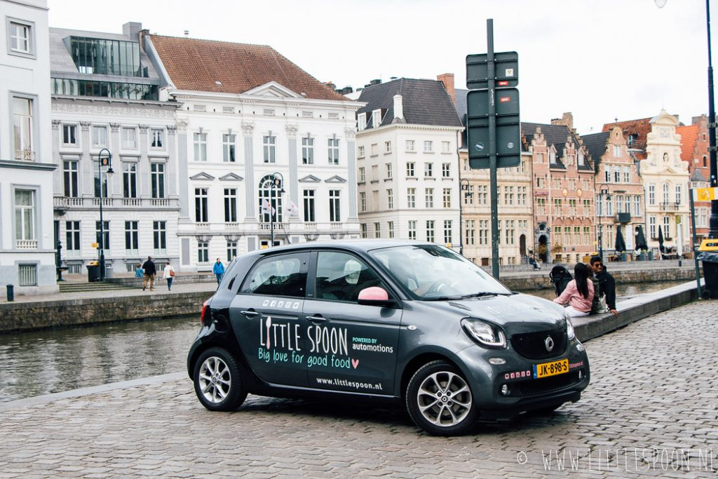 Smart X Little Spoon roadtrip #1 // Van Vlissingen naar Gent + toffe tips