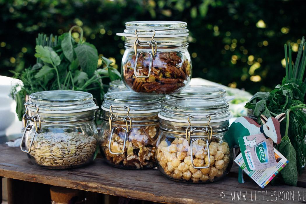 Venkelsalade met geitenkaas en honingnoten