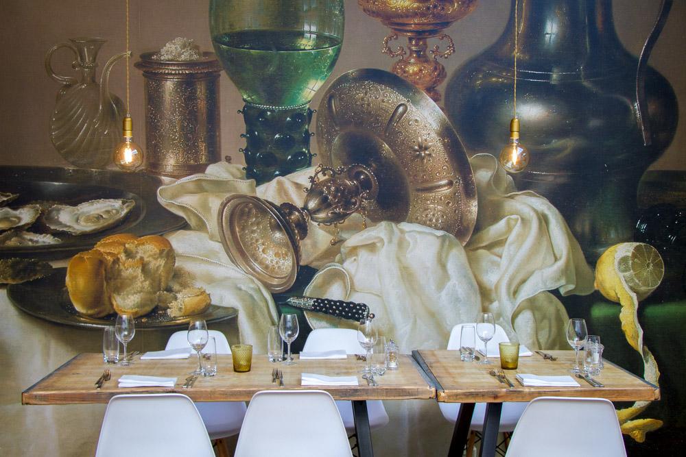 Het Vliegendt Hert // Uitbundig lunchen, lang tafelen en mooie wijnen