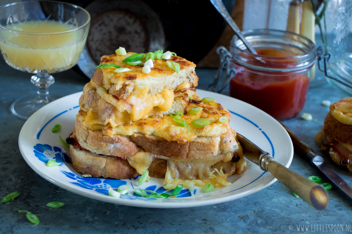 De Tosti Der Tostis Croque Monsieur Little Spoon