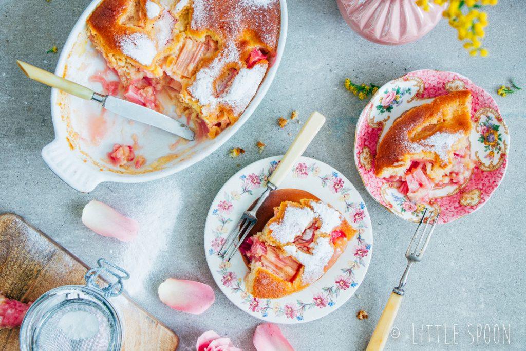 Rabarbercake met stemgember