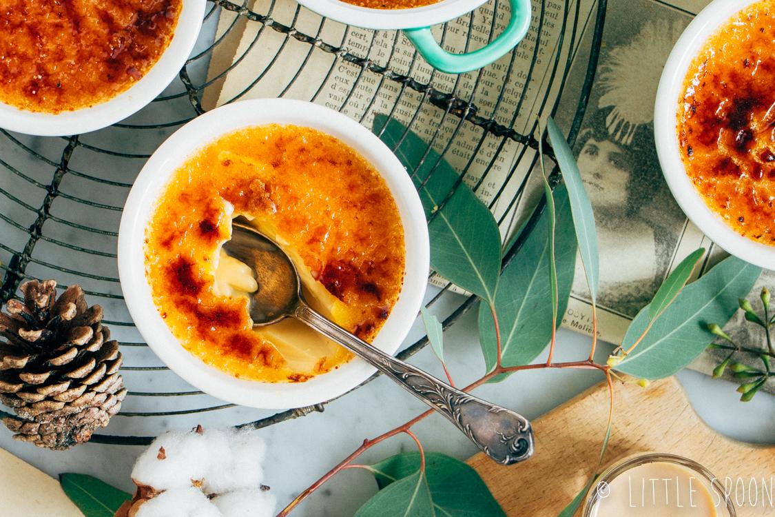 Crème brûlée met baileys