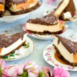 New york cheesecake met chocolade